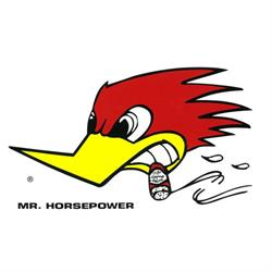 Mr. Horsepower Large Decal
