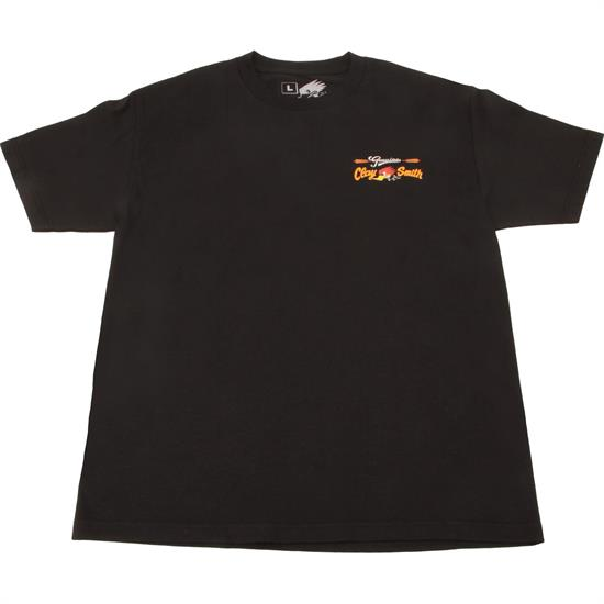 Clay Smith Cams Genuine Mr. Horsepower Black T-Shirt
