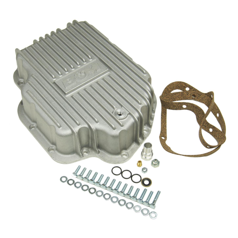 B/&M 30284 Aluminum Transmission Filter Extension