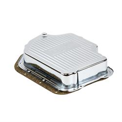 B&M 20289 Chrome Deep Transmission Pan For TH 400 Transmission