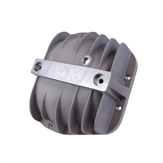B&M 40298 Cast Aluminum Differential Cover for Ford 9.75""