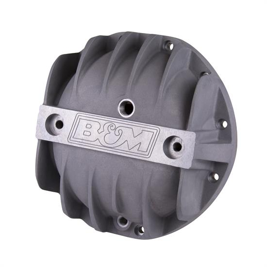 B&M 70500 Cast Aluminum Differential Cover for GM 8.875""