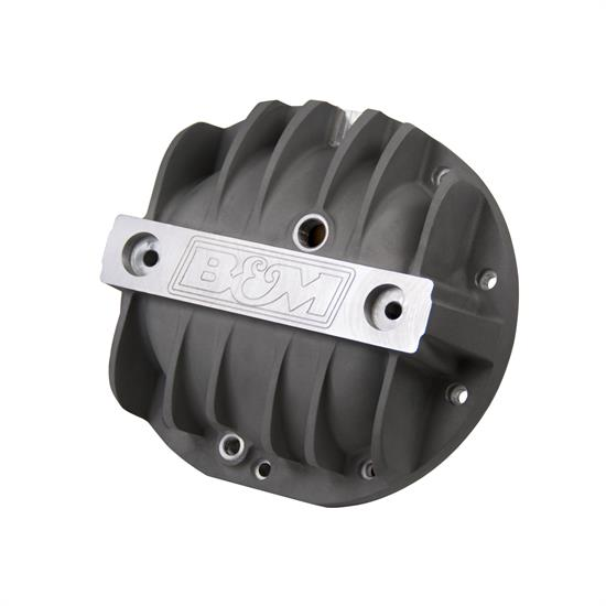 B&M 70503 Cast Aluminum Differential Cover for GM 8.2""
