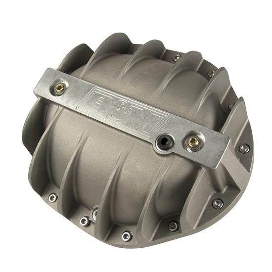 "B&M 70505 Cast Aluminum Differential Cover for GM 9.5"" 14-Bolt"