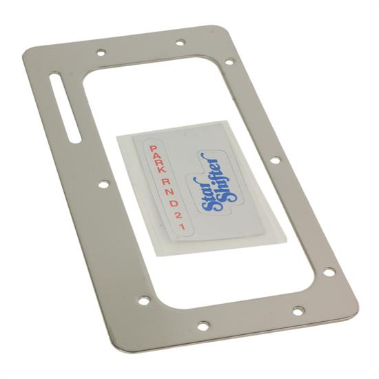 B&M 80616 Chrome Boot Plate for StarShifter PN 80675