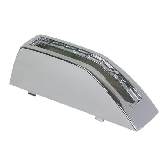 B&M 80645 Chrome Plastic Cover for Z-Gate Shifter PN 80681