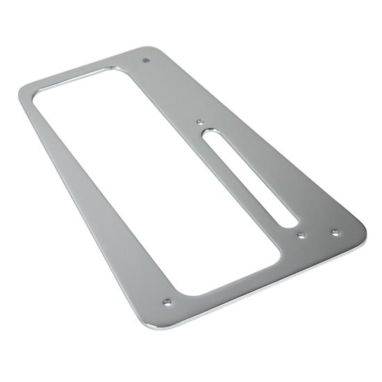 B&M 80664 Plastic Chrome Finish Boot Plate for B&M MegaShifter