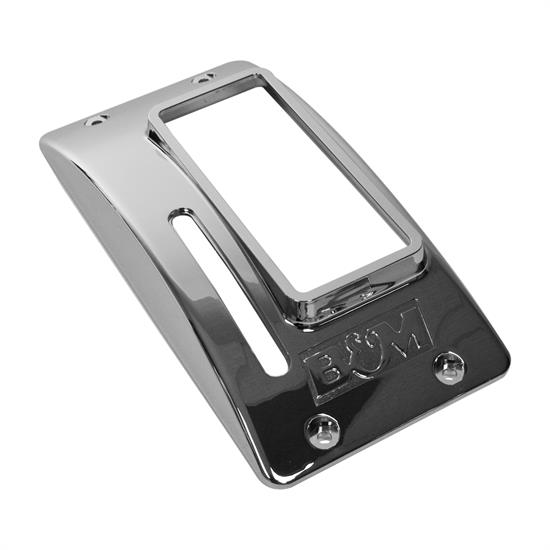 B&M 80671 Chrome Plastic Cover, Quicksilver Shifter