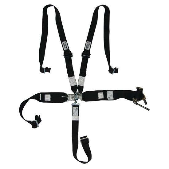 Hooker Harness 5 Point Latch And Link Safety Belt 2 Inch