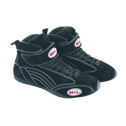 Bell Viper II Mid-Top SFI 3.3/5 Racing Shoes, Black Size 6.5