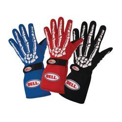 Bell Skeleton Racing Gloves