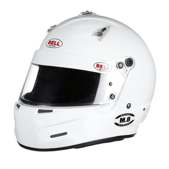 Bell M8 SA2020 Helmet, White or Matte Black