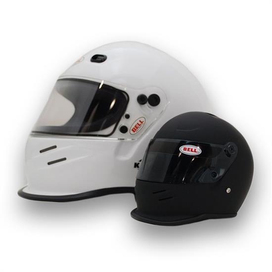 Bell Racing Helmets >> Bell 4100002 K1 Mini Signature Helmet Matte Black