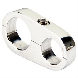 Billet Specialties 68420 Aluminum Hose Separator Clamp, .734 x .890 In