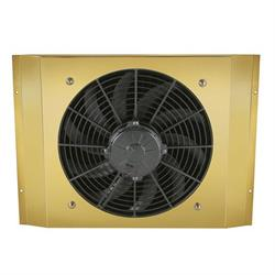 Brass Fan and Shroud for T-Bucket Radiator