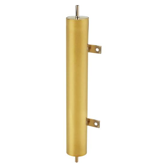 Brassworks OT-13-PBV Brass Overflow Tank for T-Bucket Radiator