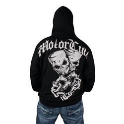 MotorCult Pistskulls Zip Hoodie