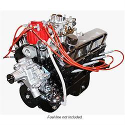BluePrint BP3472CTC Ford 347 Stroker, Dressed Engine, Cast Iron Heads