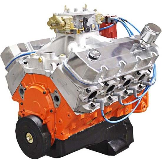 Blueprint Ps5720ctc Chevy 572 Pro Series Dressed Engine Alum Heads