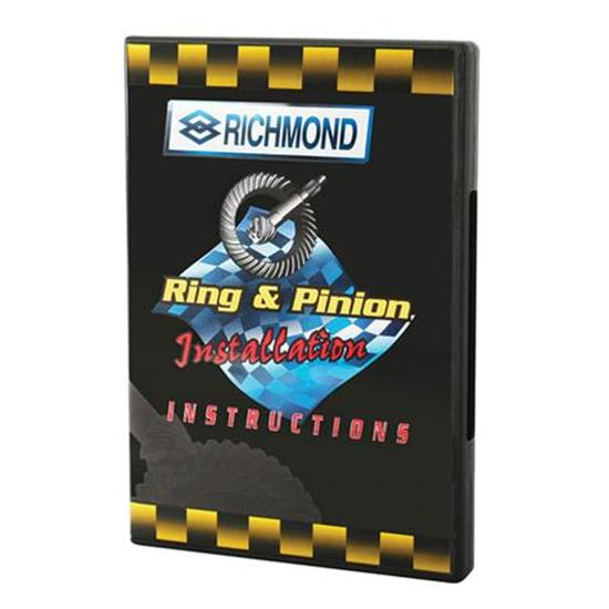 Dvd Richmond Gear Installation Instruction