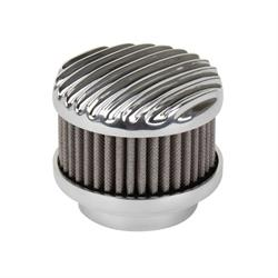 OTB Gear 4220 Rochester 2-G Full Finned Air Cleaner, Polished