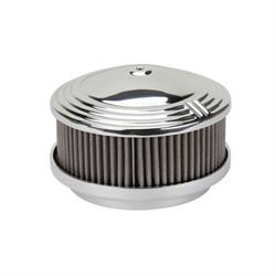 OTB Gear 4460 Orbit Style Air Cleaner, Straight Base, Polished