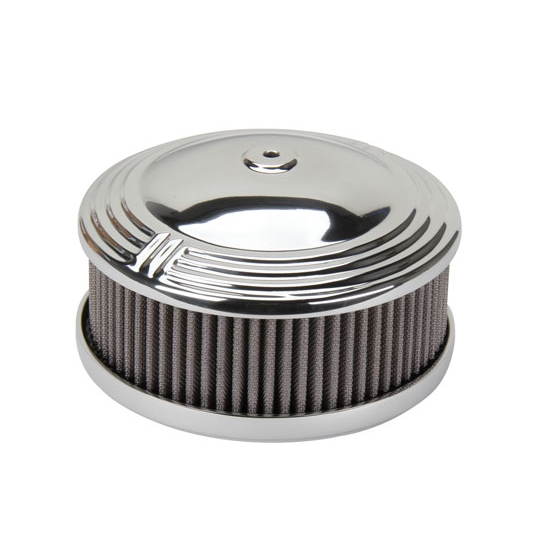 OTB Gear 4461 Orbit Style Air Cleaner, Offset Base, Polished