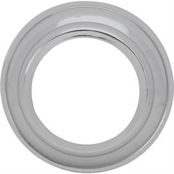 Speedway Smoothie Wheel Hub Cap Adapter, Early Ford, Chrome Finish