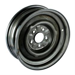 Speedway O/E Style Hot Rod Raw Steel Wheel 15x5, 5 on 4.5, 3.0 BS