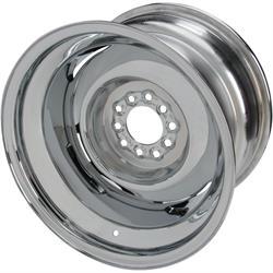 Speedway Smoothie 15x10 Steel Wheels, 5 on 4.5/4.75, 4.5 BS