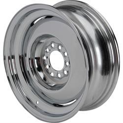 Speedway Vintage 15x6 Steel Wheels, 5 on 4.5/4.75, 3.5 Inch BS