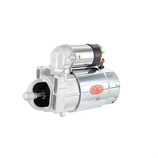 Powermaster 13655 Starter, Full size, Chrome, GM