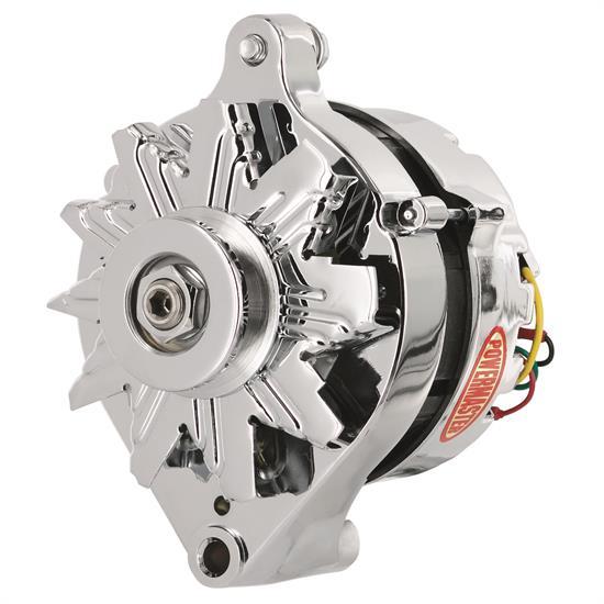 Powermaster 170781 Street Alternator  75 Amps  V