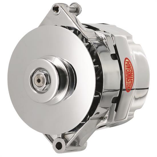 powermaster 17290 retro alternator 120 amps v belt 12v gm rh speedwaymotors com