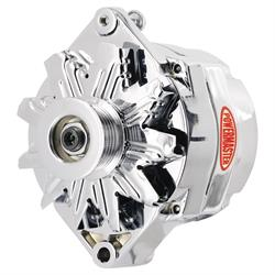 Powermaster 17294-114 Street Alternator, 100 Amps, Serp, 12V, GM