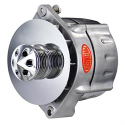 Powermaster 17296-360 GM 12si Alternator, 100A, 6-Groove, Brushed