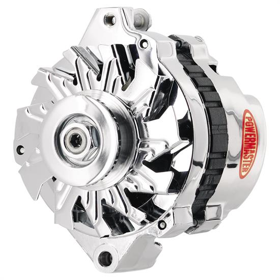 Powermaster 174011 Street Alternator, 105 Amps, V-belt, 12V, GM