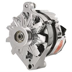 Powermaster 17735 Street Alternator, 80A, Serpentine, 12V, Ford