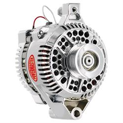 Powermaster 177491 Alternator, 120 Amps, Serpentine, 12V, Ford