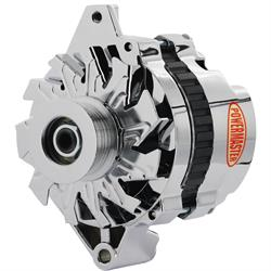 Powermaster 17802 Street Alternator, 105A, Serpentine, 12V, GM