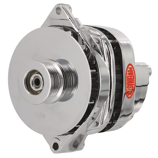 Powermaster 17806 Street Alternator, 140 Amp