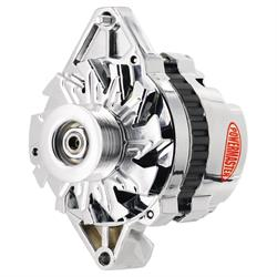 Powermaster 17914 Street Alternator, 105A, Serpentine, 12V, Chevy