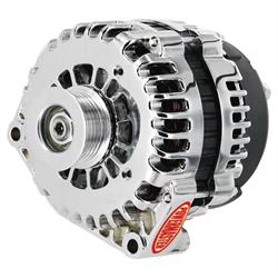 Powermaster 18237 Street Alternator, 145A, Serpentine, 12V, Chevy