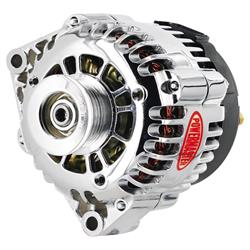Powermaster 18247 Street Alternator, 120A, Serpentine, 12V, Chevy