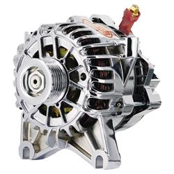 Powermaster 18252 Street Alternator, 120A, Serpentine, 12V, Ford