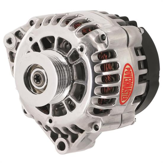 Powermaster 28208 Street Alternator, 115A, Serpentine, 12V, Chevy