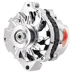 Powermaster 374011 Street Alternator, 140 Amps, V-belt, 12V, GM
