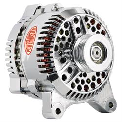 Powermaster 37764 Alternator, 200 Amps, Serpentine, 12V, Ford