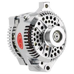 Powermaster 37771 Street Alternator, 200A, Serpentine, 12V, Ford