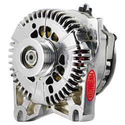 Powermaster 37781 Street Alternator, 200A, Serpentine, 12V, Ford